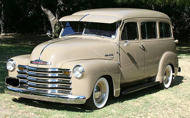 Old Muscle Cars For Sale >> 1951 Chevy Suburban, Station Wagons - My Dream Car