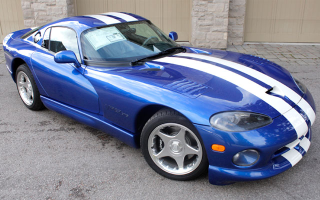 dodge viper gts with only 797 miles my dream car. Black Bedroom Furniture Sets. Home Design Ideas