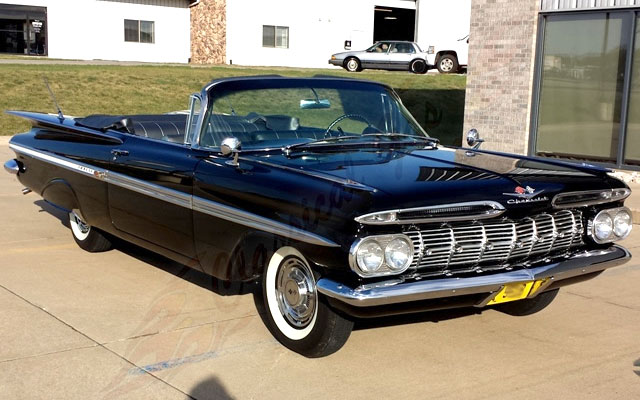 1959 Chevy Impala Convertible - My Dream Car