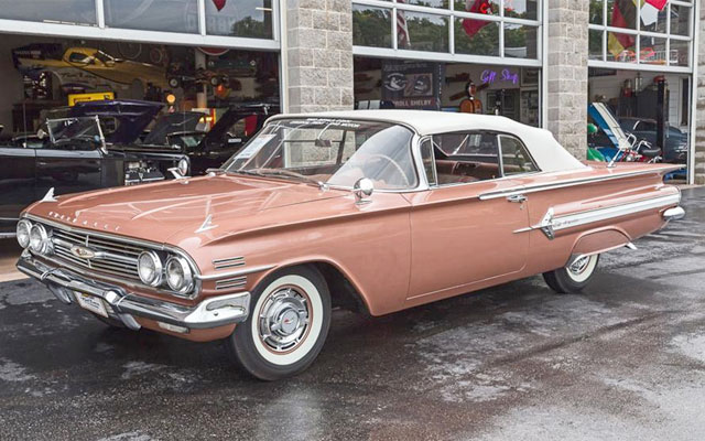 1960 Chevy Impala Convertible My Dream Car