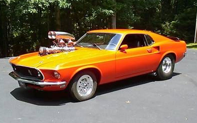 1969 Mustang Mach 1 Pro Street My Dream Car