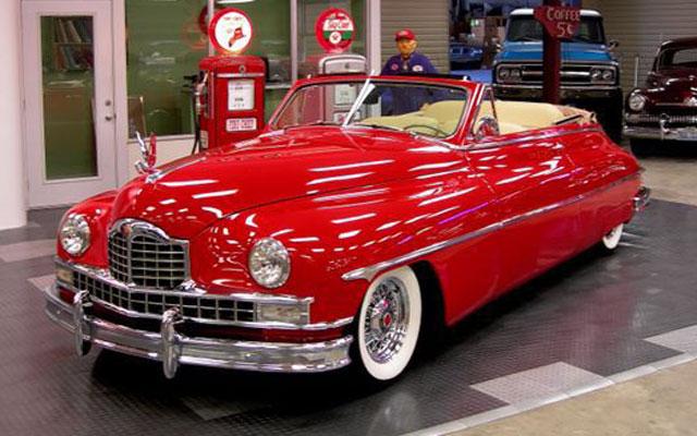 1950 Packard Victoria Convertible