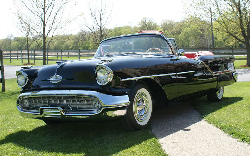 For /'57 Oldsmobile 1957 The Accent/'s on Oldsmobile