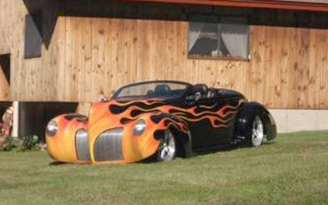 1939 Lincoln Zephyr Convertible My Dream Car