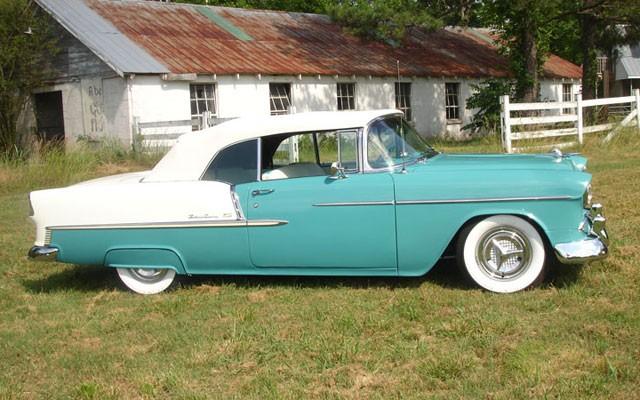 1955 Chevy Bel Air Convertible - My Dream Car