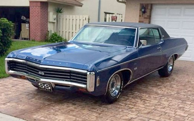 1969 Chevy Impala Ss 427 My Dream Car