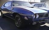 Liberty blue 1969 Pontiac GTO Judge
