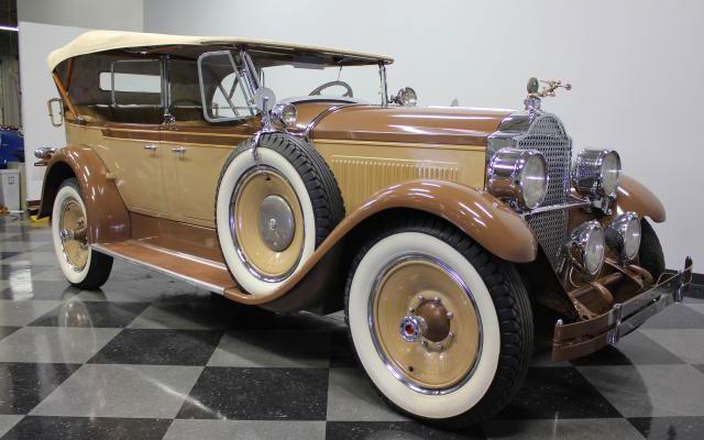 1928 Packard 526 Dual-Cowl Phaeton