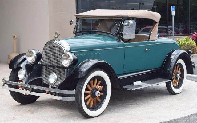 White Wall Tires For Sale >> 1927 Chrysler Model 50 Roadster - My Dream Car