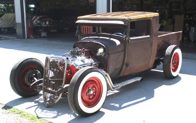 Ford Model A Rat Rod Pickup