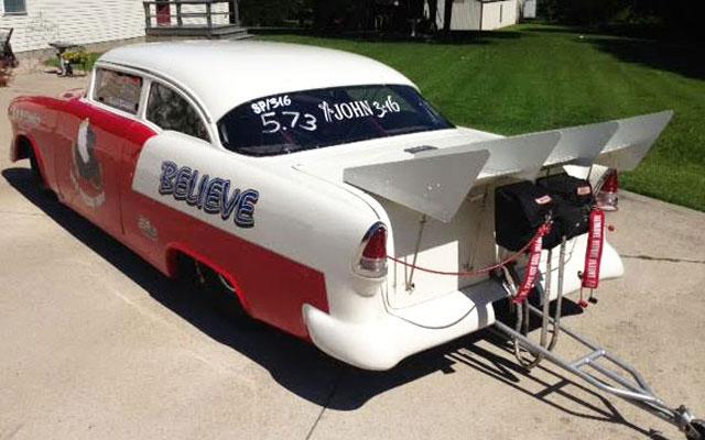 1955 Chevy 2-Door Post - My Dream Car