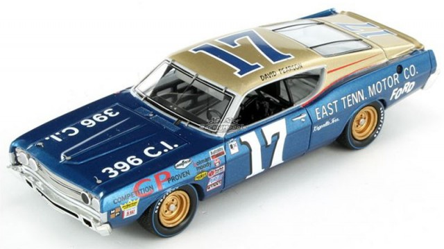 David Pearson's 1968 NASCAR Torino