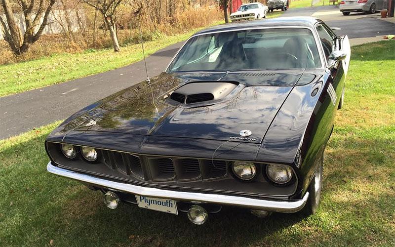 Black 1971 Plymouth Hemi Cuda - My Dream Car