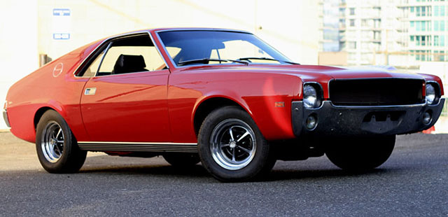 1969 AMC AMX in the DEAL of the DAY
