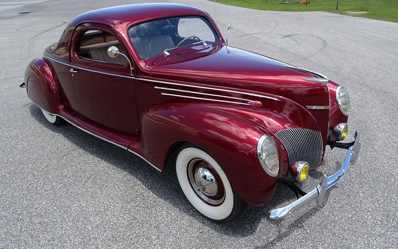 1939 Lincoln Zephyr 3-Window