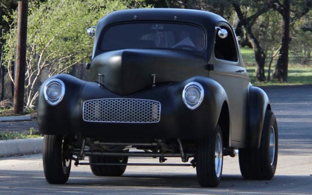 1940 Willys Gasser Project - My Dream Car