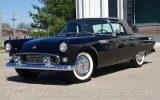 black 1955 Ford Thunderbird