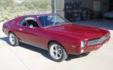 1969 AMC AMX muscle car