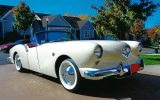 1954 Kaiser Darrin Roadster for $83,000