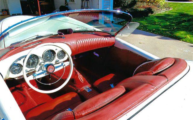 1954 Kaiser Darrin Roadster for $83,000