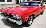 1968 Chevelle SS big block muscle car