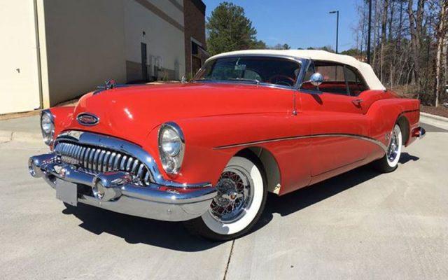 Matador Red 1953 Buick Skylark Convertible