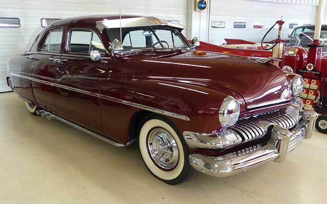 Old School 1951 Mercury Sedan