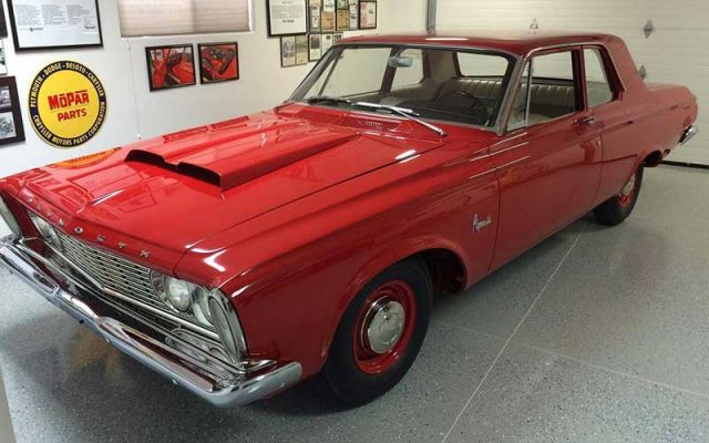1963 Plymouth Savoy 426 Max Wedge Super Stock