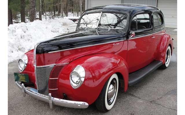 Hot 1940 Ford Deluxe Tudor Street Rod Deal