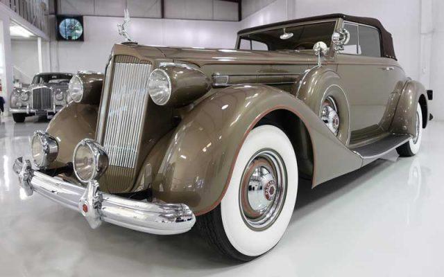1937 Packard Twelve Roadster V12