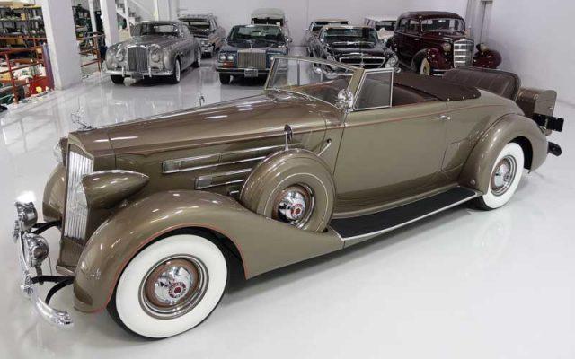 1937 Packard Twelve Roadster Coupe