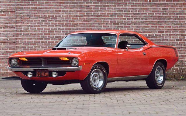 Original 1970 Plymouth Hemi Cuda
