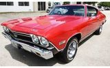 1968 Chevellle SS 396 muscle car
