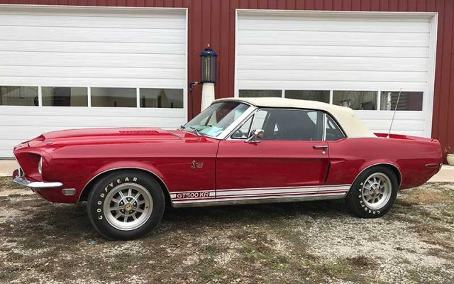 1968 Shelby GT500 KR Convertible survivor