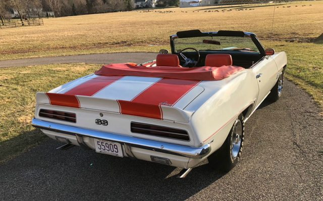 1969 Camaro Indy Pace Car Convertible