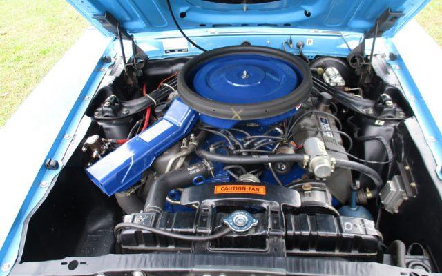 Grabber Blue 1970 Boss 429 Mustang