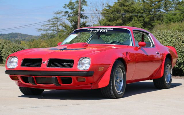 1974 Pontiac Trans Am Super Duty 455
