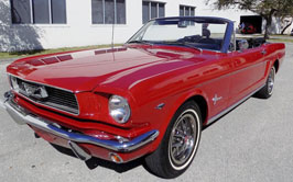 First Generation Mustang Convertible