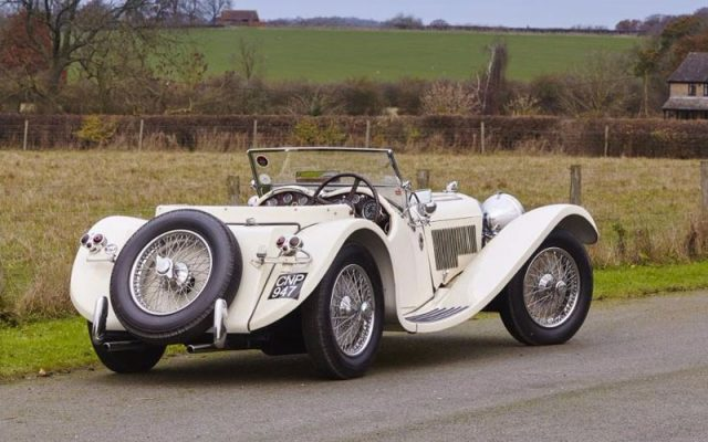 1938 Jaguar SS 100 3.5 Litre Roadster