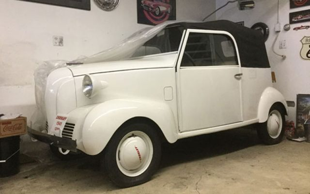 1941 Crosley Coupe Convertible, Deal of the Day, Cars-On-Line.com newsletter