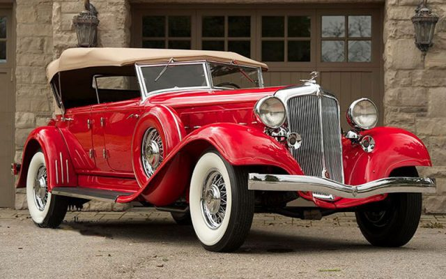 1933 Chrysler Imperial CL Dual Cowl Phaeton