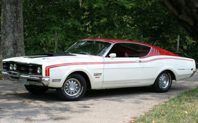 1969 Cale Yarborough Mercury Cyclone Spoiler