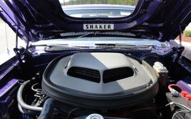 1970 Dodge Hemi Challenger R/T 426 Hemi engine