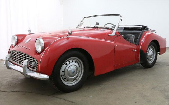 1961 Triumph TR3 Roadster