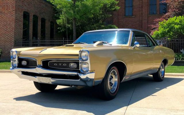 1967 Pontiac GTO Hardtop, muscle car, DEAL of the DAY