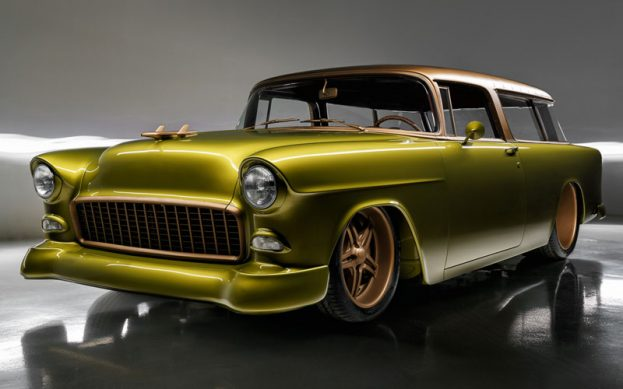 Gone Mad '55 Chevy Nomad