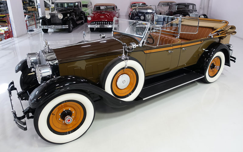 1928 Packard Eight Dual Cowl Phaeton