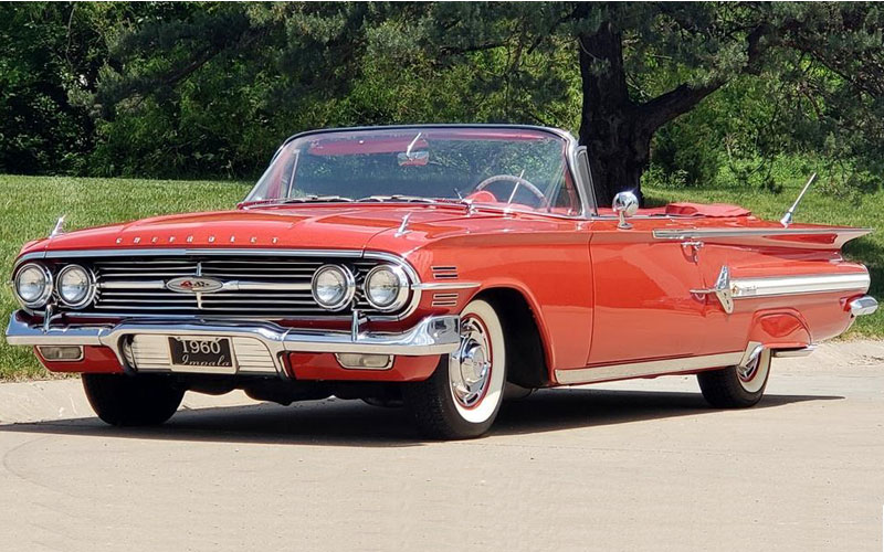 1960 Chevrolet Impala Convertible Classic Car Feature ...