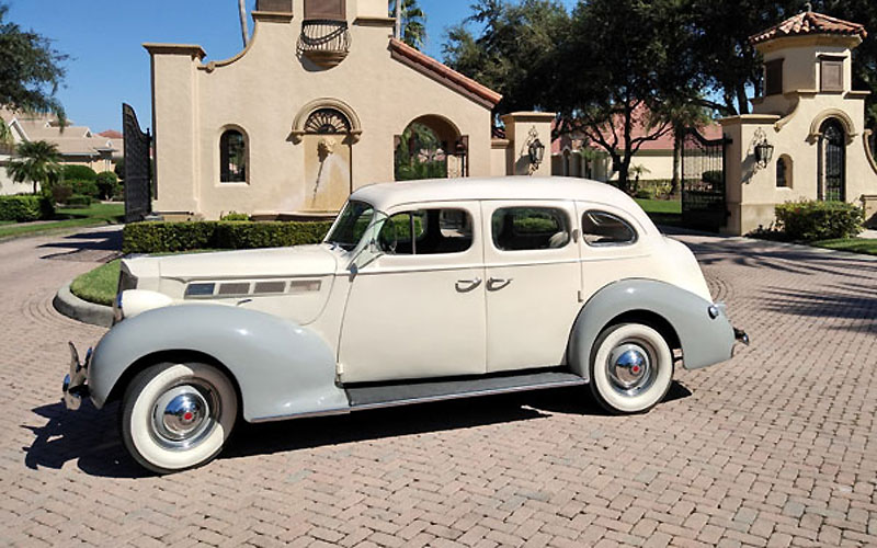 1938 Packard 1600 Touring On Cars-On-Line.com