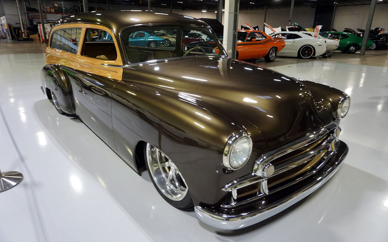 1950 Tin Woody Custom Wagon